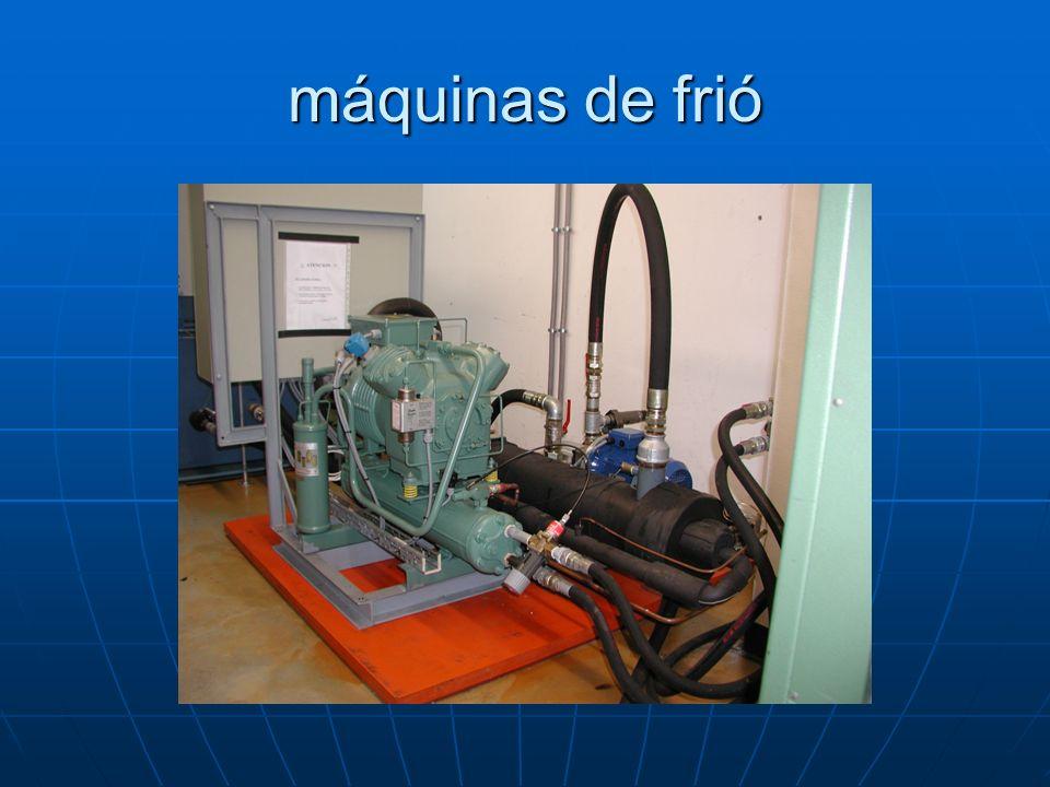 máquinas de frió