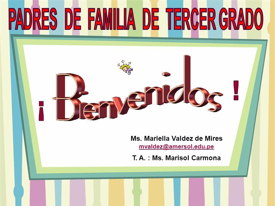 PADRES DE FAMILIA DE TERCER GRADO