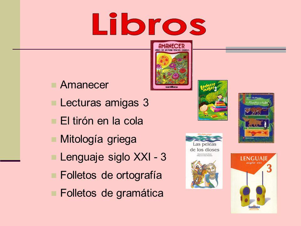 Libros Amanecer Lecturas amigas 3 El tirón en la cola Mitología griega