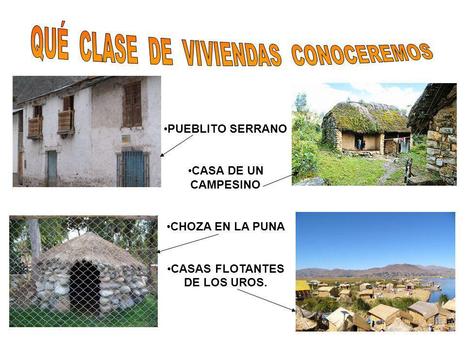 CASAS FLOTANTES DE LOS UROS.