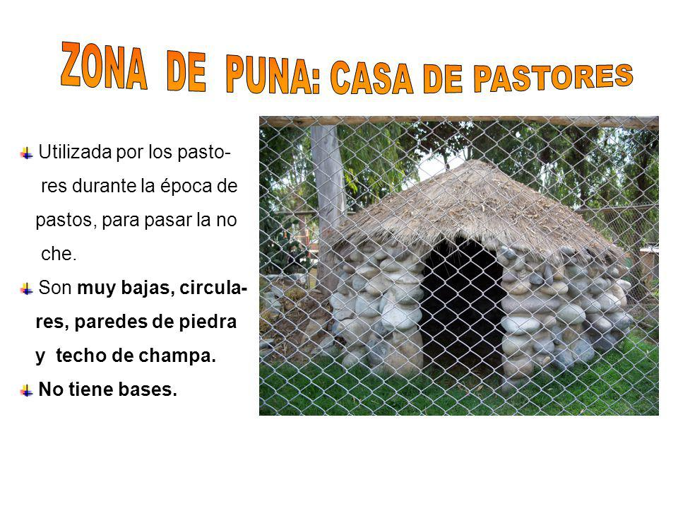 ZONA DE PUNA: CASA DE PASTORES