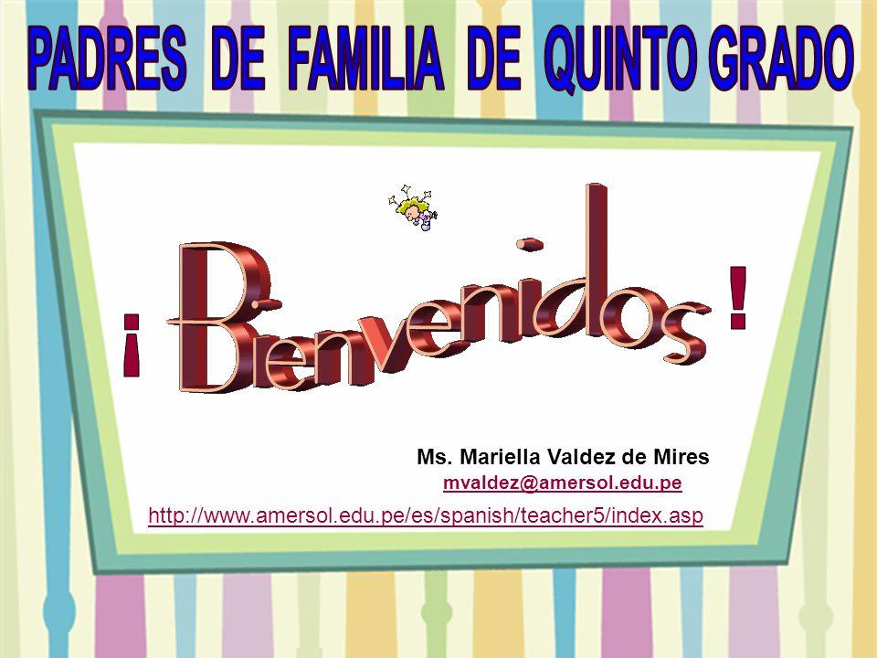 PADRES DE FAMILIA DE QUINTO GRADO