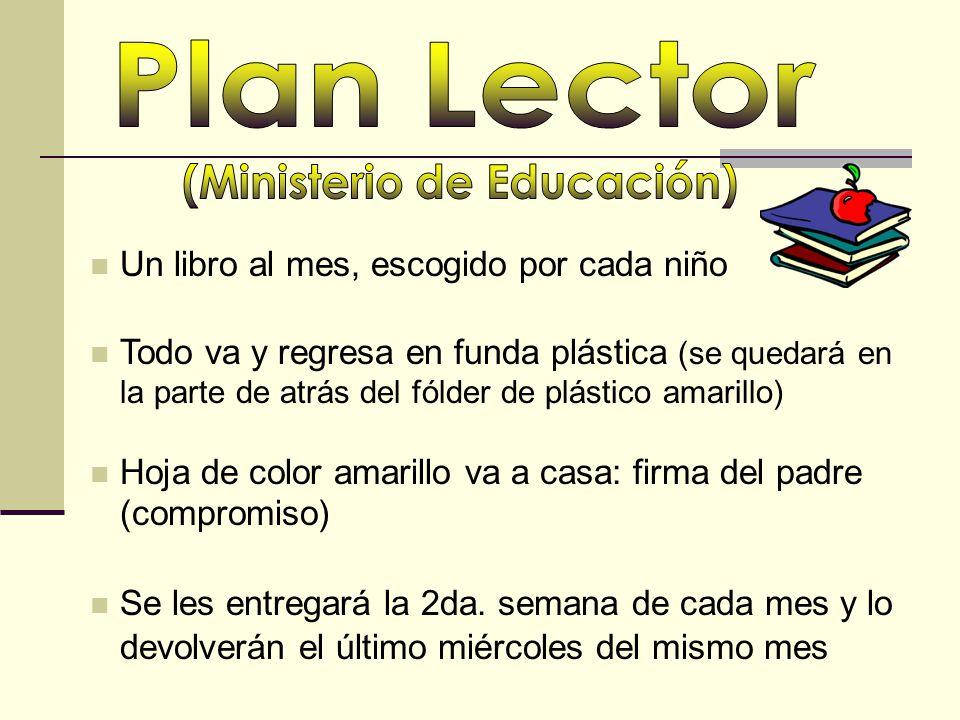 (Ministerio de Educación)