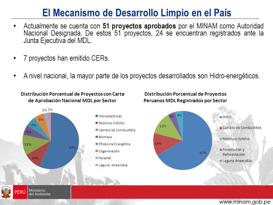 El Mecanismo de Desarrollo Limpio en el País
