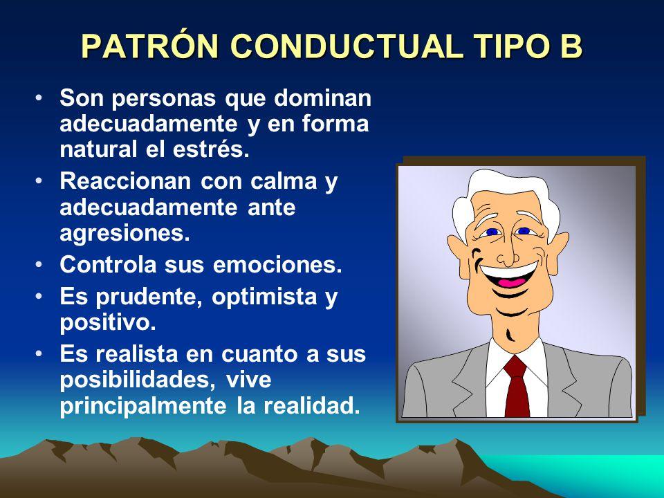PATRÓN CONDUCTUAL TIPO B