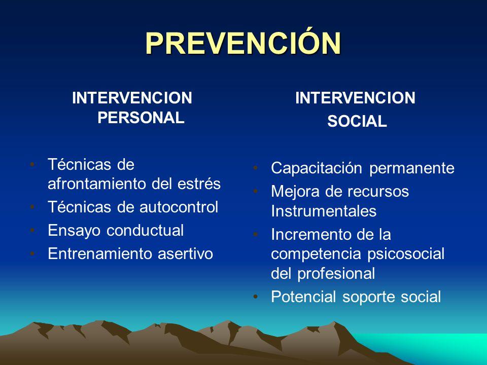 INTERVENCION PERSONAL
