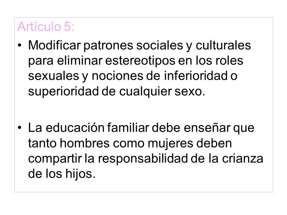 Artículo 5: