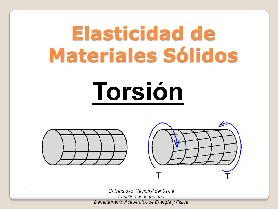 Elasticidad de Materiales Sólidos