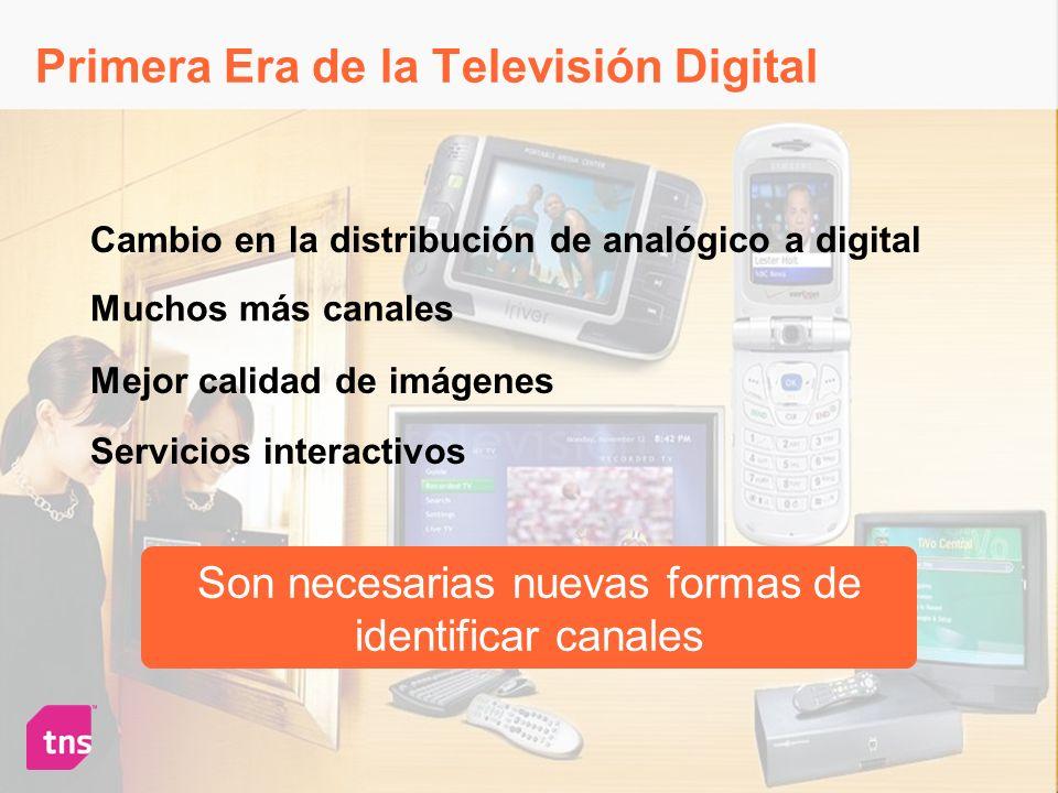 Primera Era de la Televisión Digital