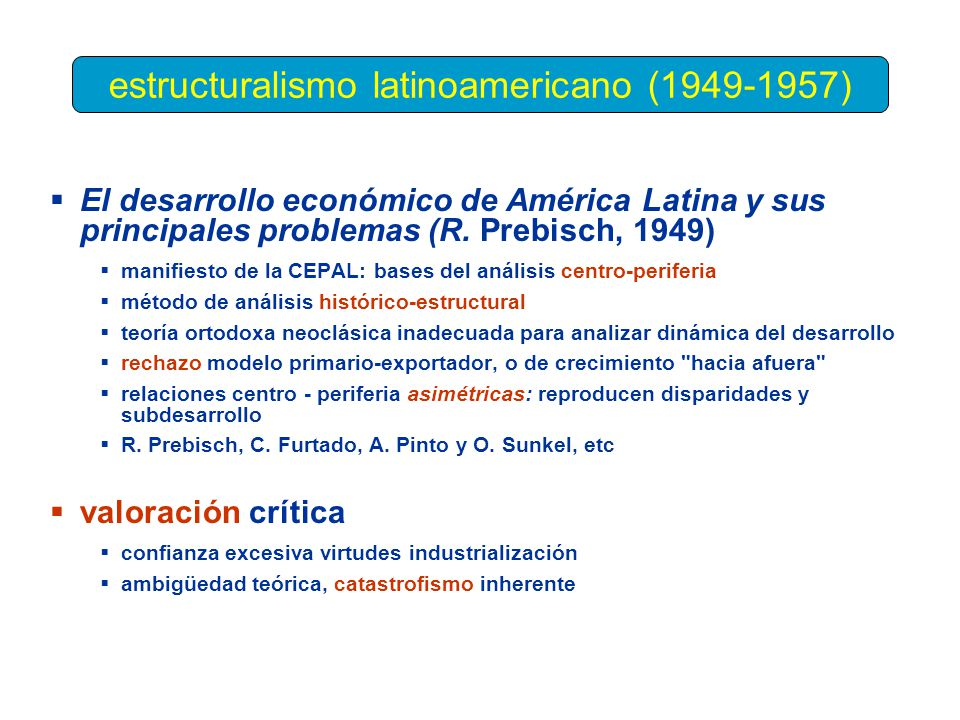 estructuralismo latinoamericano (1949-1957)
