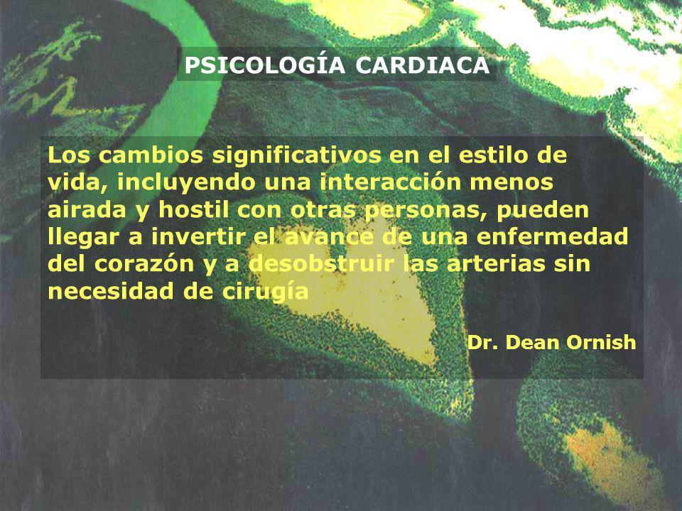 PSICOLOGÍA CARDIACA