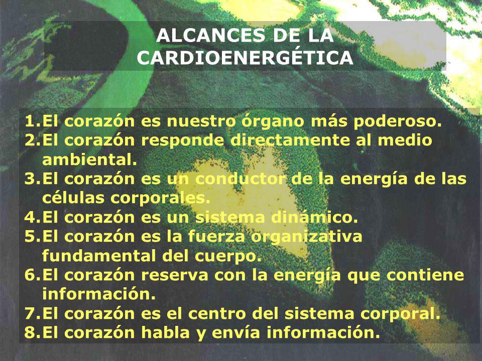 ALCANCES DE LA CARDIOENERGÉTICA