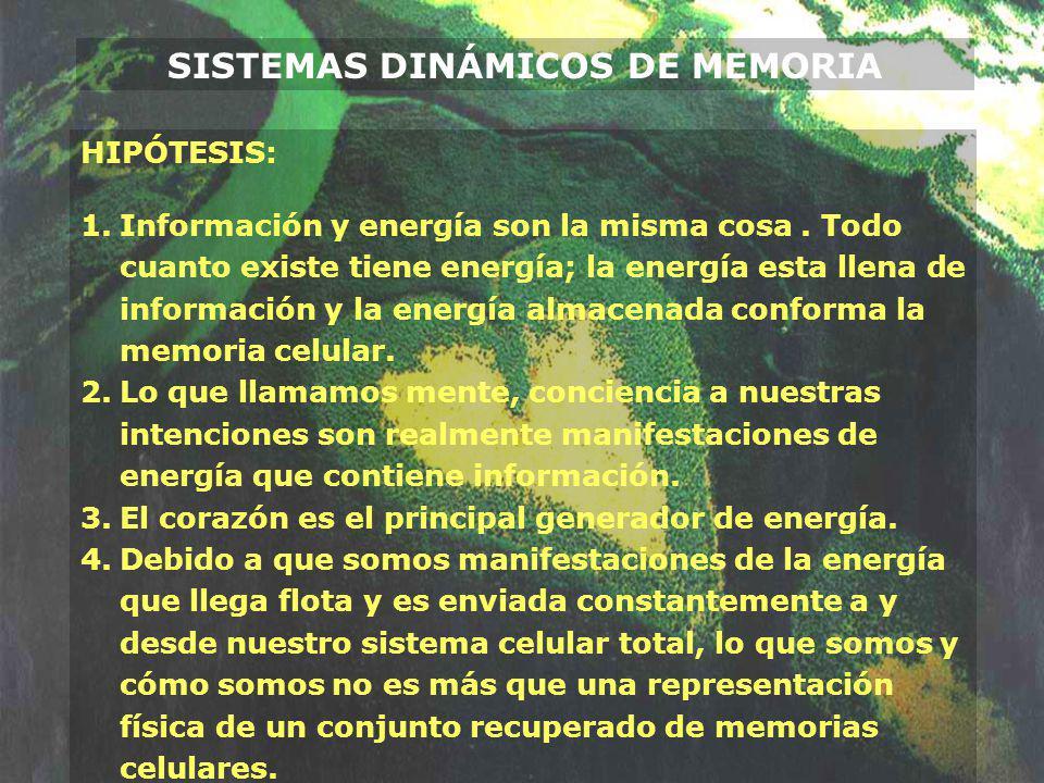 SISTEMAS DINÁMICOS DE MEMORIA