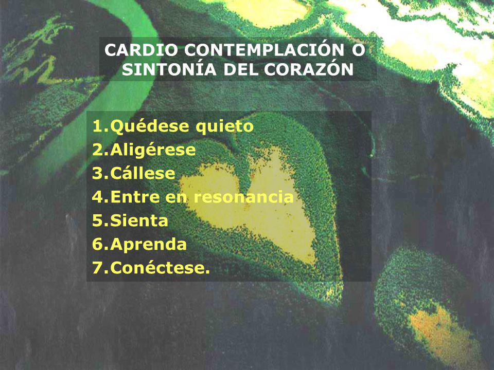 CARDIO CONTEMPLACIÓN O