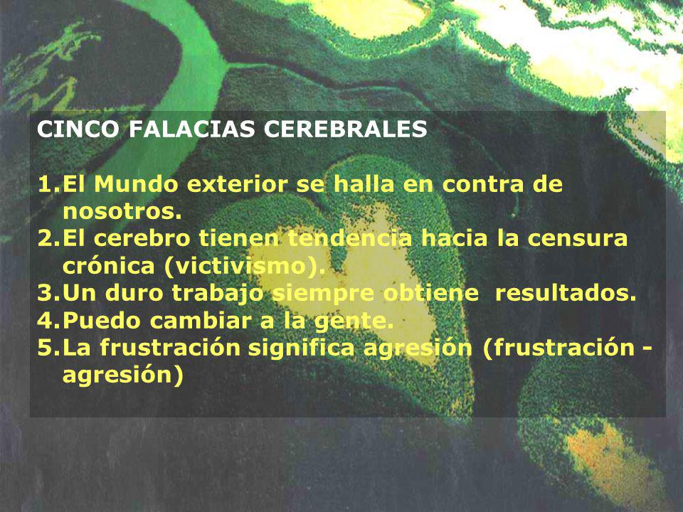 CINCO FALACIAS CEREBRALES