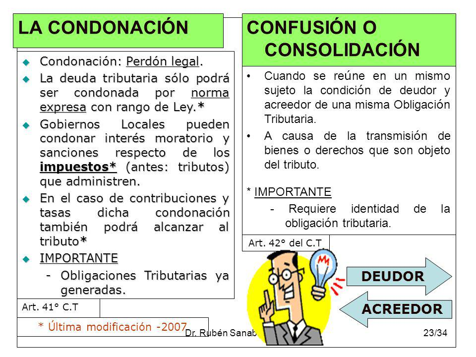 CONFUSIÓN O CONSOLIDACIÓN