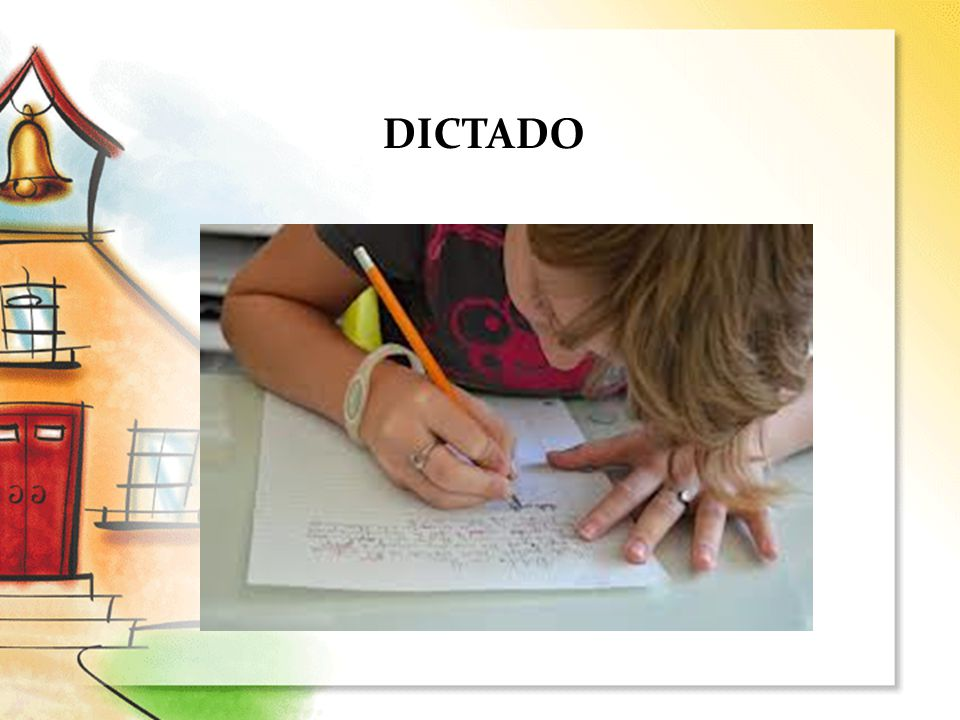 DICTADO