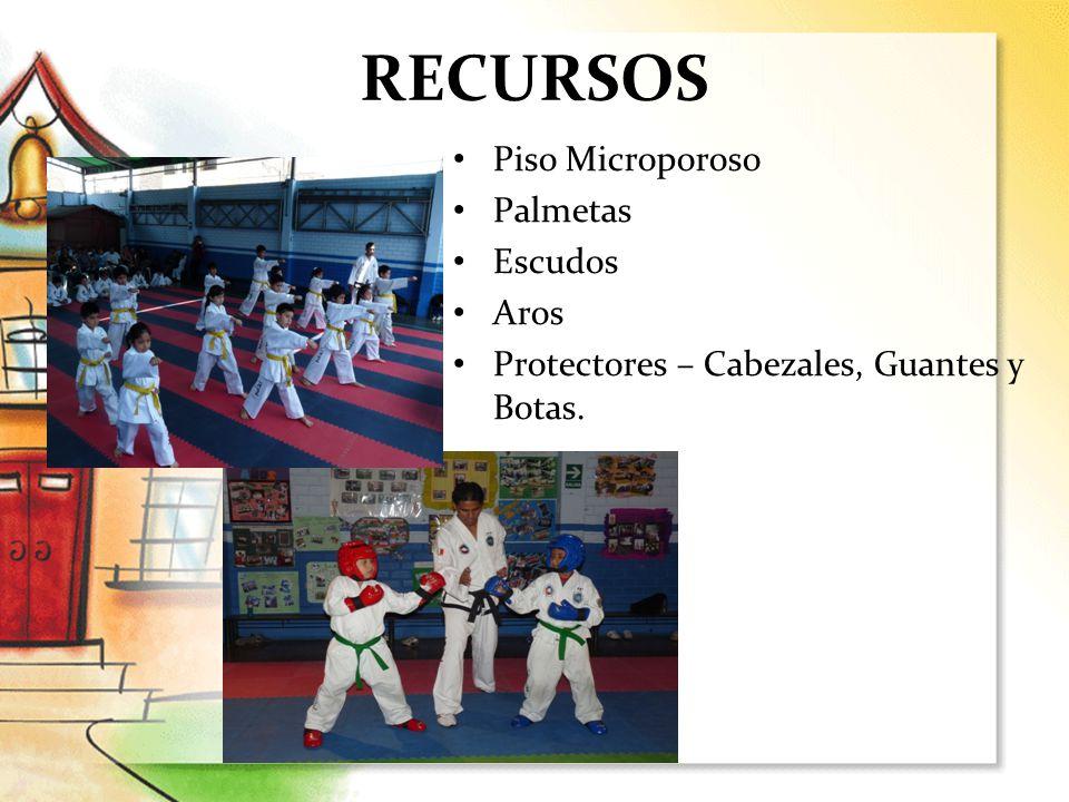 RECURSOS Piso Microporoso Palmetas Escudos Aros