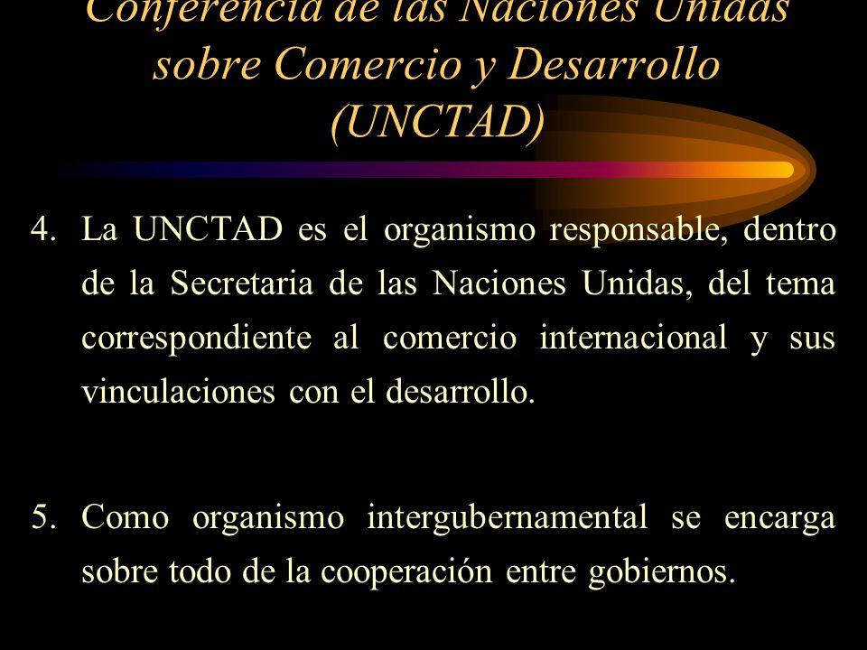 Conferencia de las Naciones Unidas sobre Comercio y Desarrollo (UNCTAD)