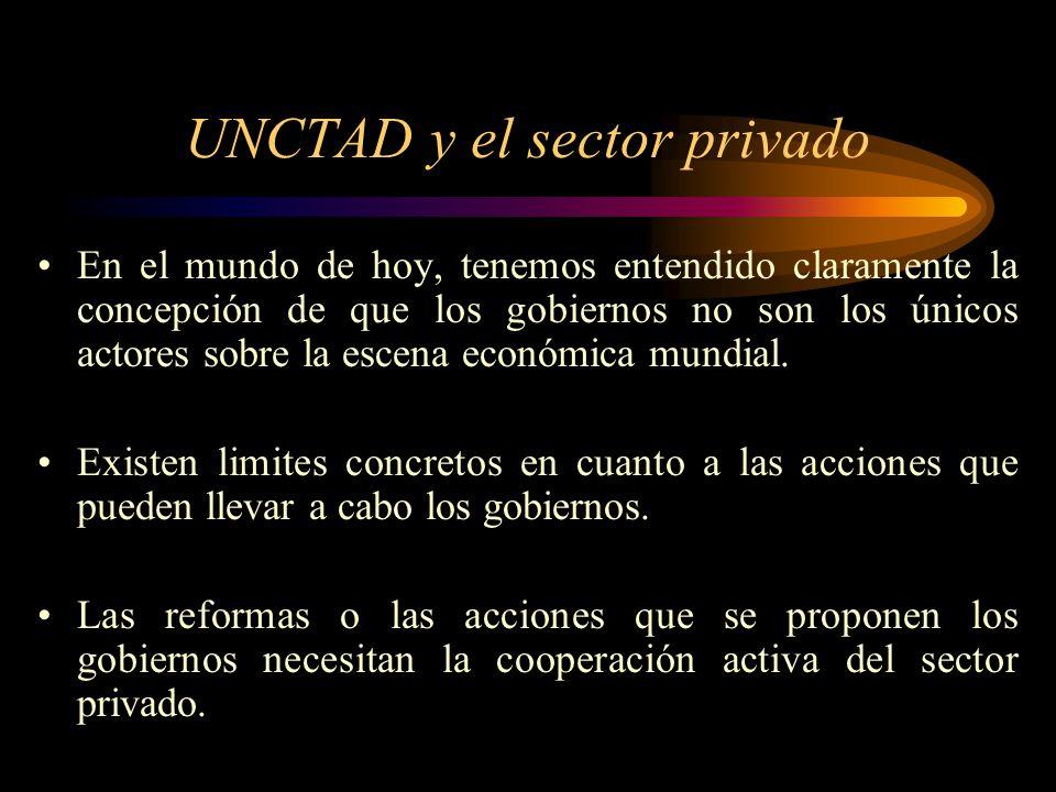 UNCTAD y el sector privado