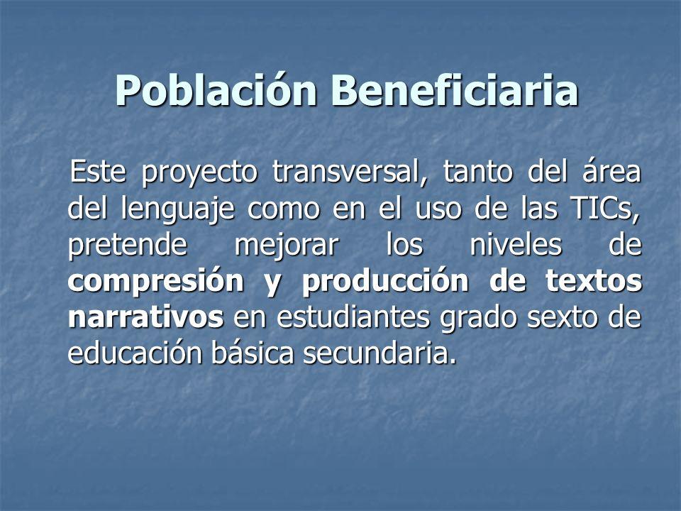 Población Beneficiaria