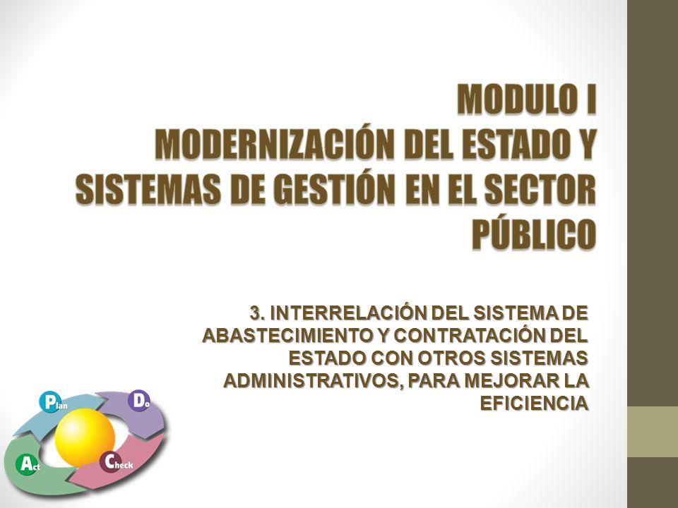 MODERNIZACIÓN DEL ESTADO Y SISTEMAS DE GESTIÓN EN EL SECTOR PÚBLICO