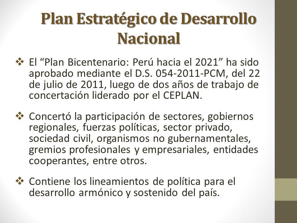 Plan Estratégico de Desarrollo Nacional