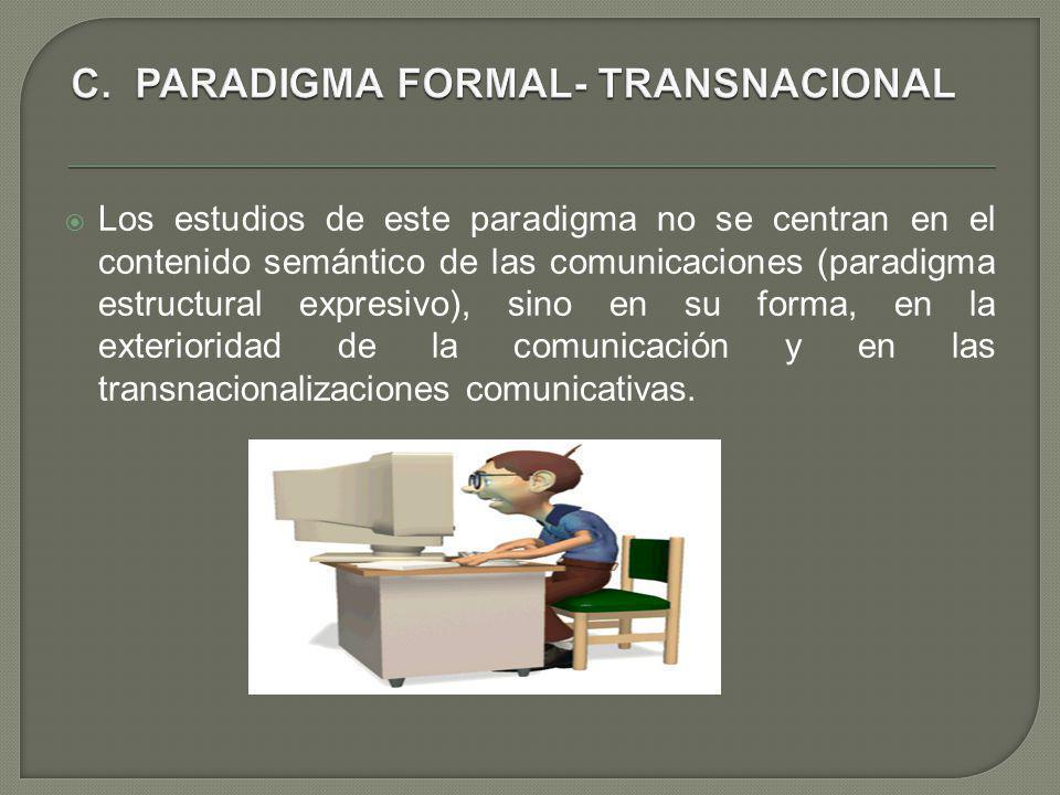 C. PARADIGMA FORMAL- TRANSNACIONAL