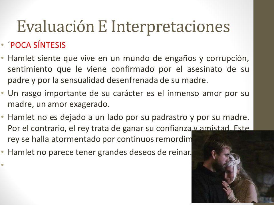 Evaluación E Interpretaciones