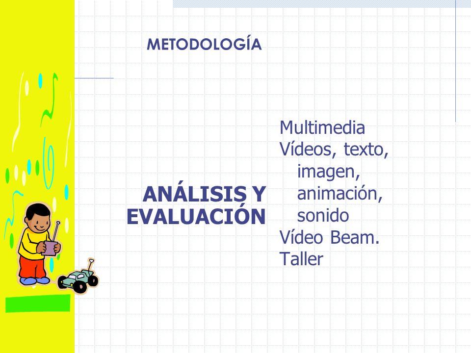 ANÁLISIS Y EVALUACIÓN Multimedia