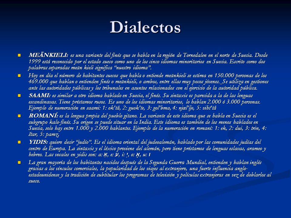Dialectos