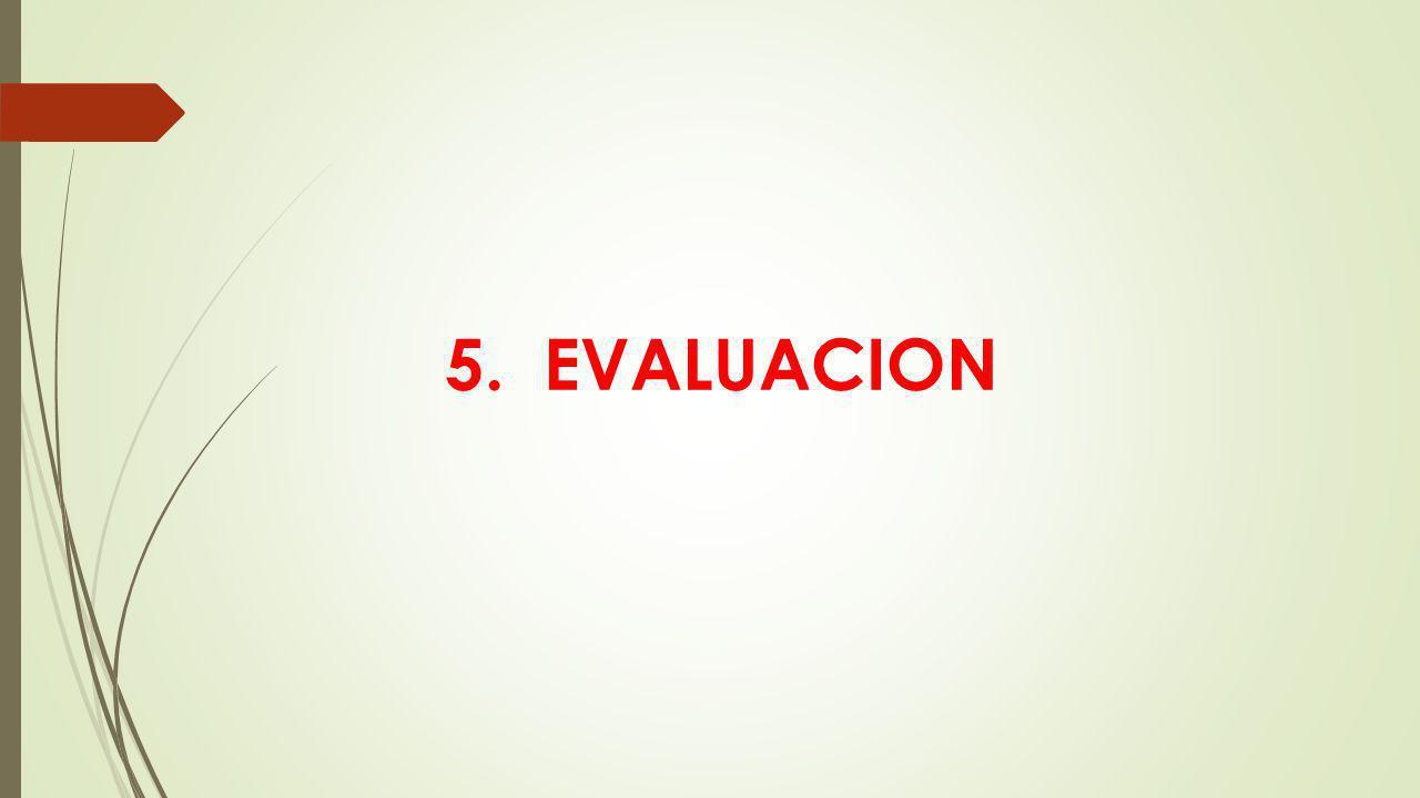 5. EVALUACION