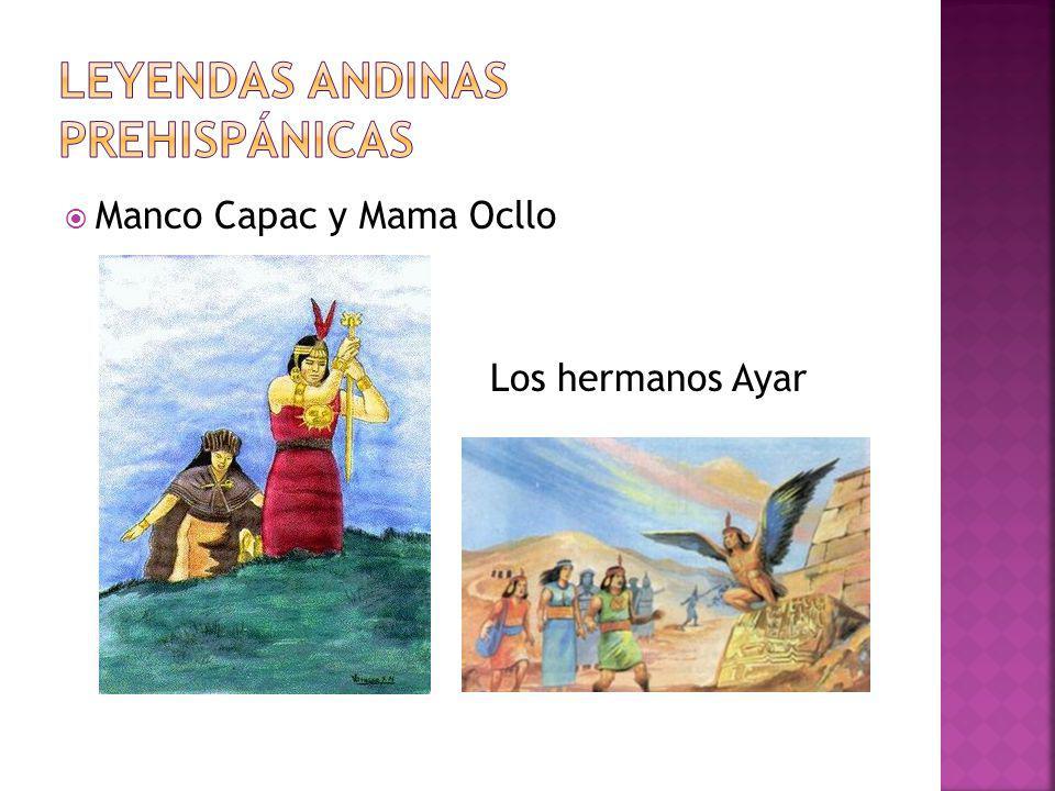 Leyendas andinas prehispánicas