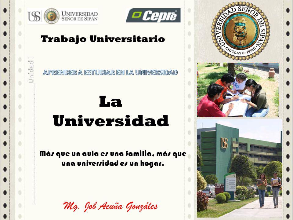 APRENDER A ESTUDIAR EN LA UNIVERSIDAD