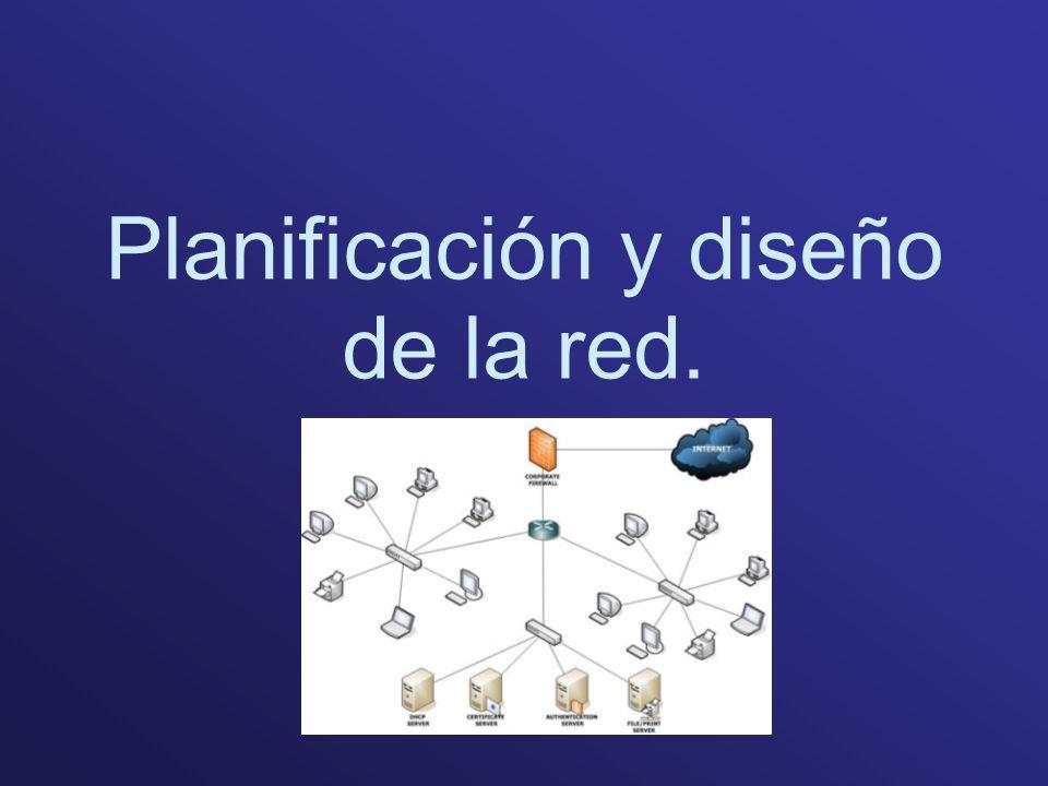 Planificación y diseño de la red.