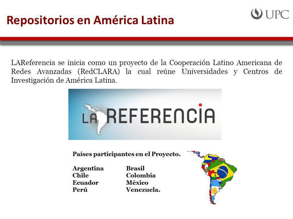 Repositorios en América Latina