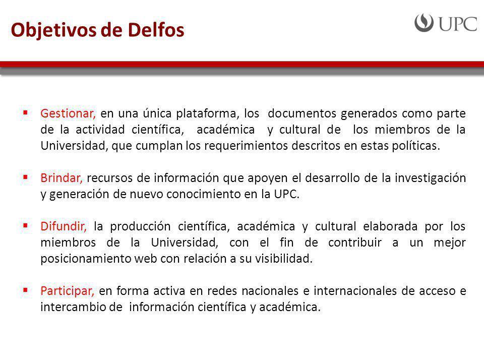Objetivos de Delfos
