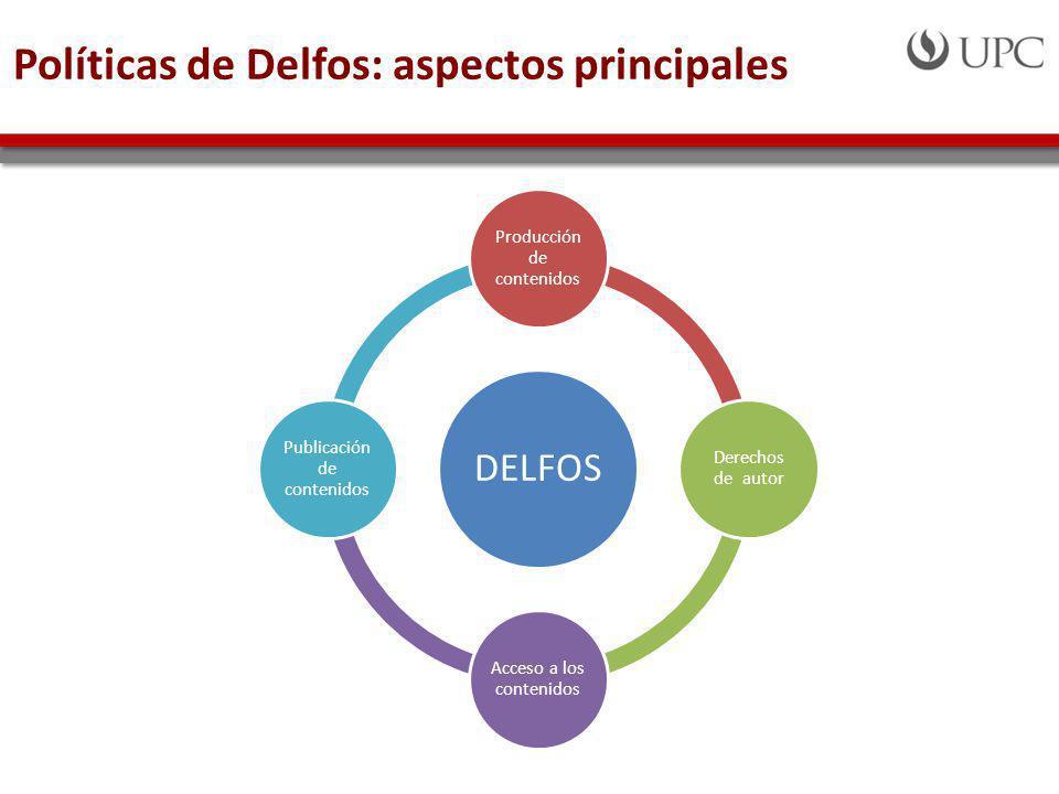 Políticas de Delfos: aspectos principales