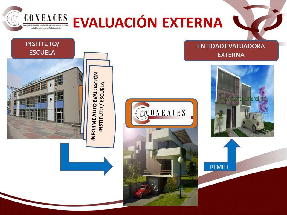 INFORME AUTO EVALUACIÓN INSTITUTO / ESCUELA