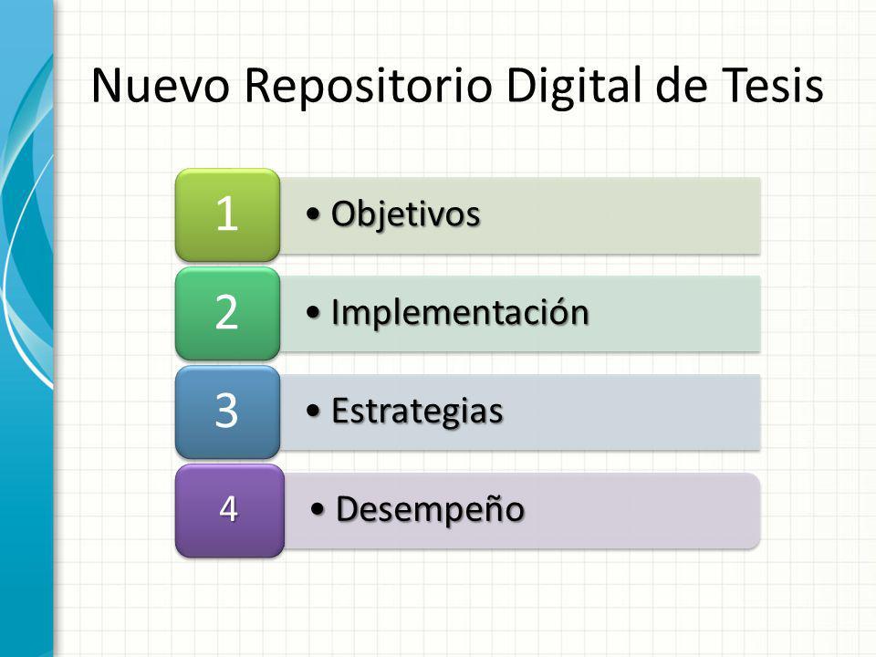 Nuevo Repositorio Digital de Tesis