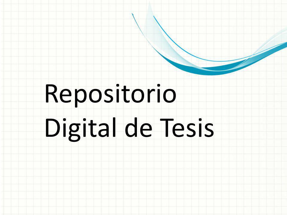 Repositorio Digital de Tesis