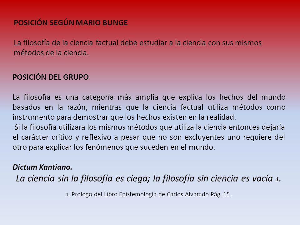 1. Prologo del Libro Epistemología de Carlos Alvarado Pág. 15.