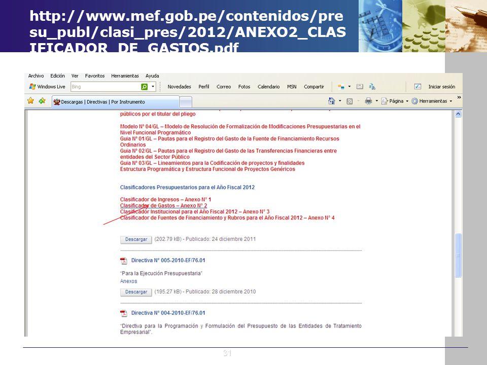 http://www.mef.gob.pe/contenidos/presu_publ/clasi_pres/2012/ANEXO2_CLASIFICADOR_DE_GASTOS.pdf