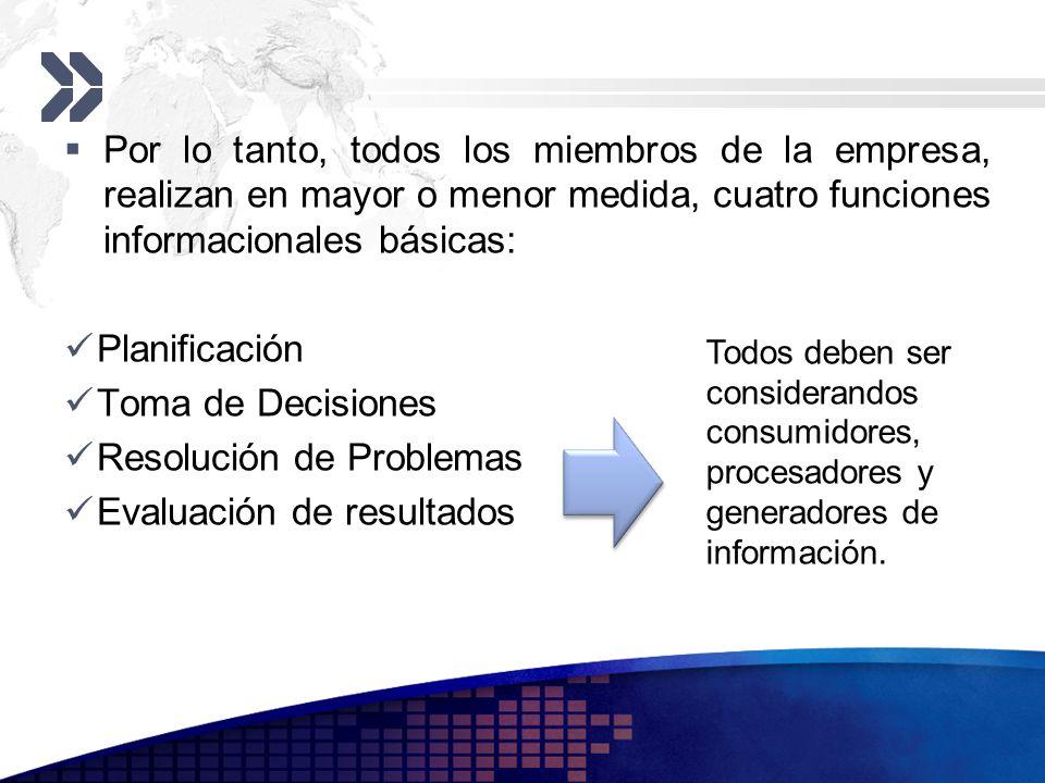 Resolución de Problemas Evaluación de resultados