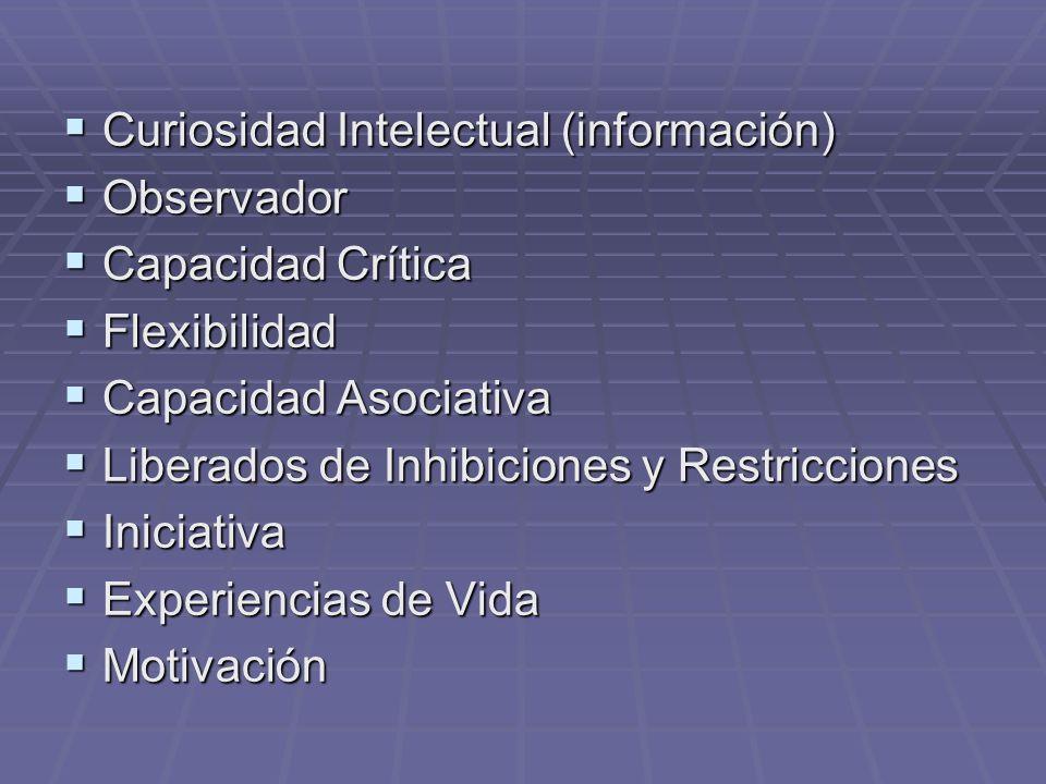 Curiosidad Intelectual (información)