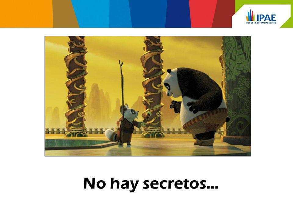 No hay secretos… 23