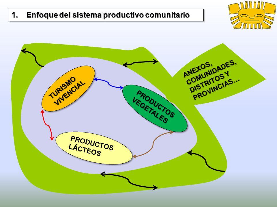 Enfoque del sistema productivo comunitario