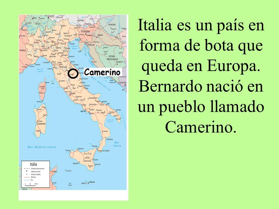 Italia es un país en forma de bota que queda en Europa
