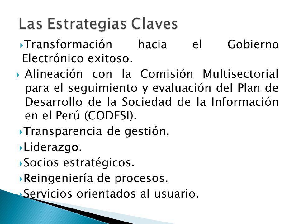 Las Estrategias Claves
