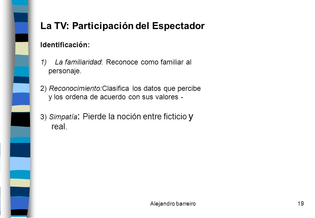 La TV: Participación del Espectador